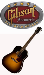 Corner Music 5-Star Gibson Acoustics